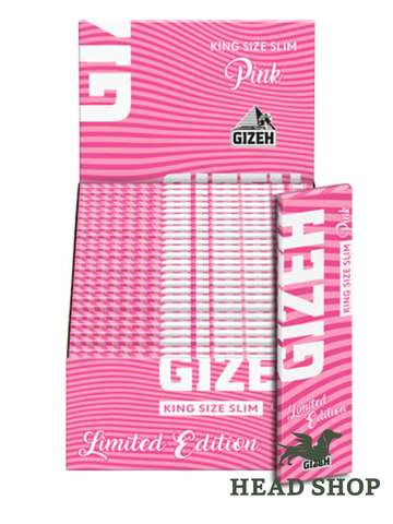 Gizeh KS Slim PINK Limited Editon with magnet - 50x