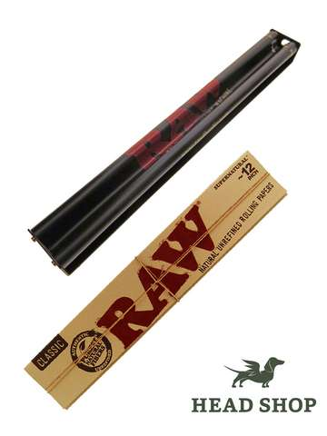 RAW Supernatural Roller + Papers 12 inch