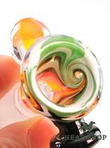 Black Leaf Bong Bowl Whirl 14,5 orange #1