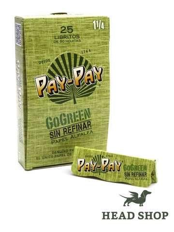 Pay-Pay GoGreen 1 1/4 - 25x