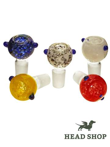 Glass Bowl Double Roll Stop 14,5