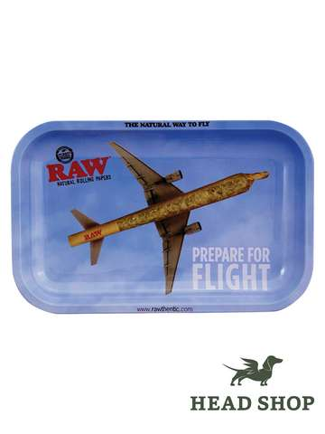 RAW Rolling Tray Small - Flying