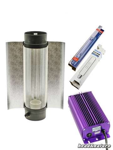 HPS/MH Kit 400W Lumatek Cooltube Growth & Bloom